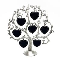 Hot Creative Love Heart Tree Metal Photo Frame Fashion Wedding Gift DIY Picture Frame Home Decoration Frame