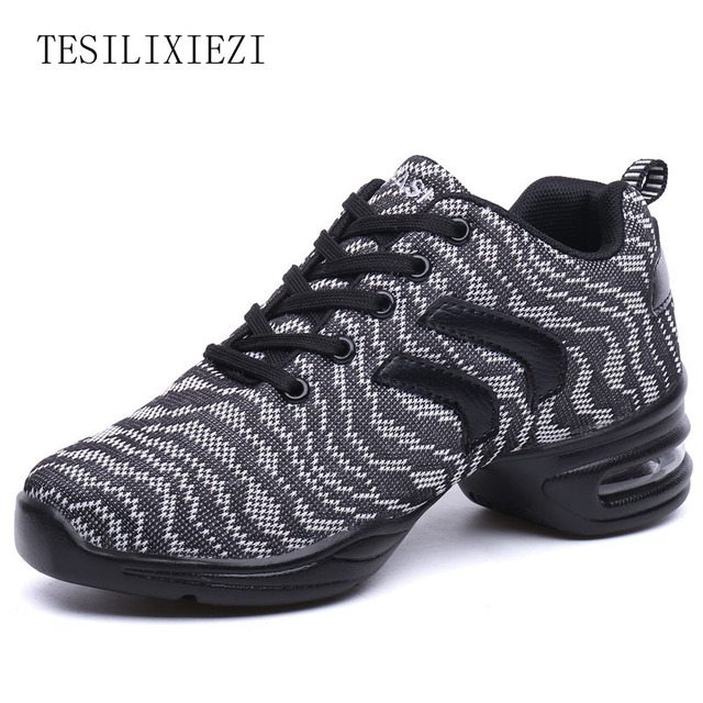 Mujeres zapatos de Baile Jazz Hip Hop zapatos Zapatillas para Mujer zapatos  de las señoras del 17cf9f96162