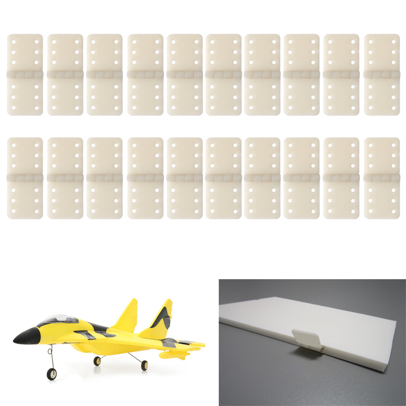 Hinges Hinge Linker Kit Plastic For RC Airplane Hobby Plane Battery Accessories