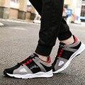 Tamaño 39-44 Nueva Marca de Lujo MenShoes Tela de Algodón Casual Hombres ShoesFashion Colores Mezclados Para Hombre Planos Para Caminar Al Aire Libre calzado