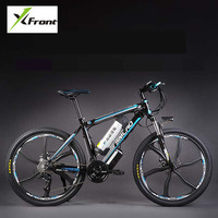 Original X Front brand 48V 350W 12A Lithium Battery Mountain Electric Bike 27 Speed Electric Bicycle downhill Cycling ebike