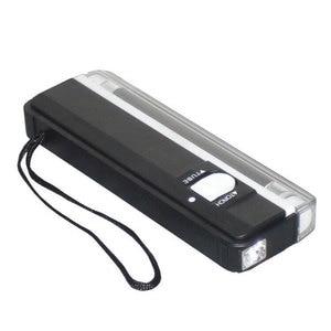 Image 4 - הכי חדש 2 In1 כף יד UV משולב Led אור לפיד מנורת שימושי שטרות גלאי מטבע מזויף כסף גלאי