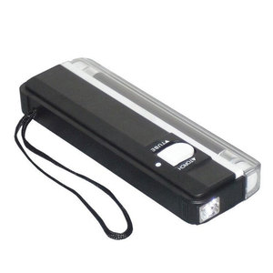 Image 4 - Newest 2 In1 Handheld UV Multifunction Led Light Torch Lamp Useful Banknotes Detector Counterfeit Currency Money Detector