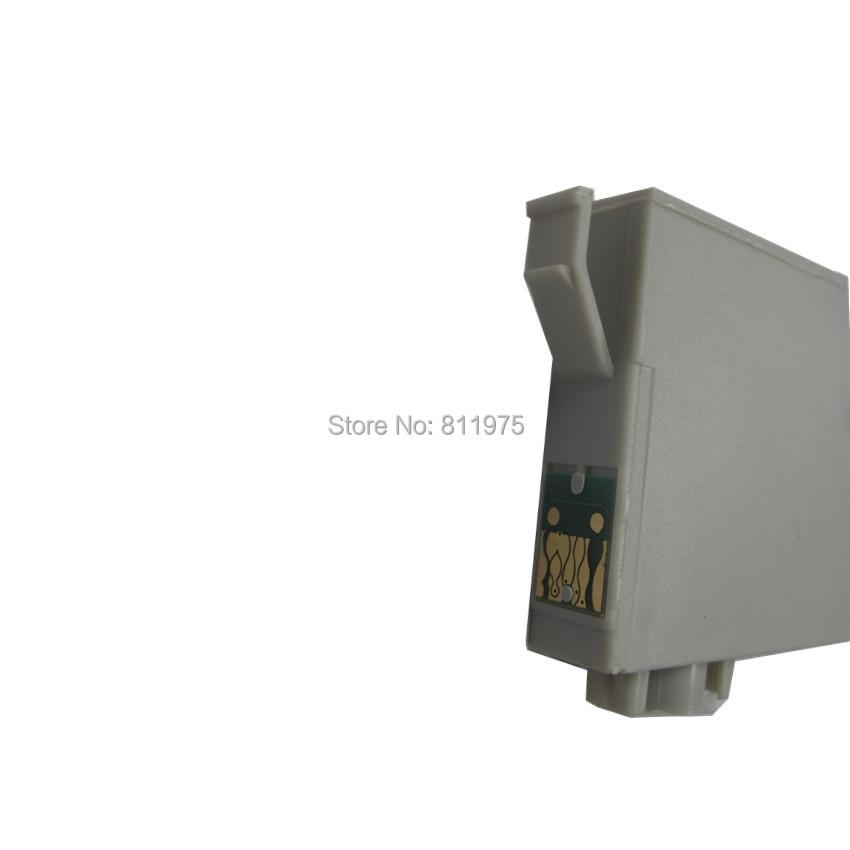 T0731 73N Sort kompatibel blækpatron til EPSON Stylus T13 TX102 - Kontorelektronik - Foto 2