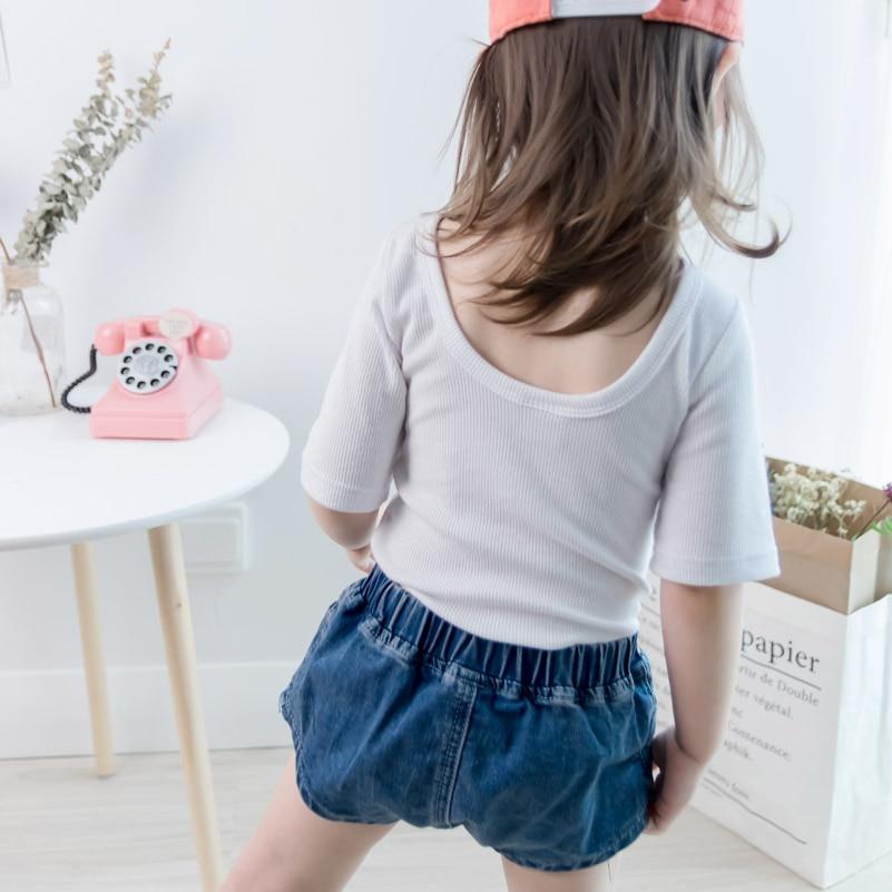 2018 Hot pants jean shorts meisjes versie van de zomer kinderkleding - Kinderkleding - Foto 1