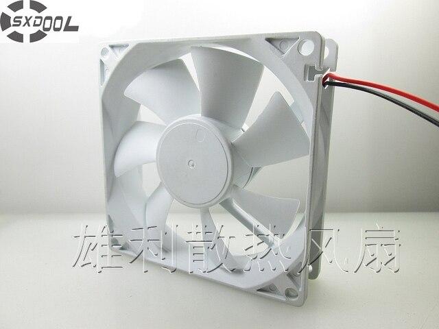 SXDOOL nowy oryginał TX9225M12 12V 0.20A 9CM 9025 2 drutu wentylator chłodzący