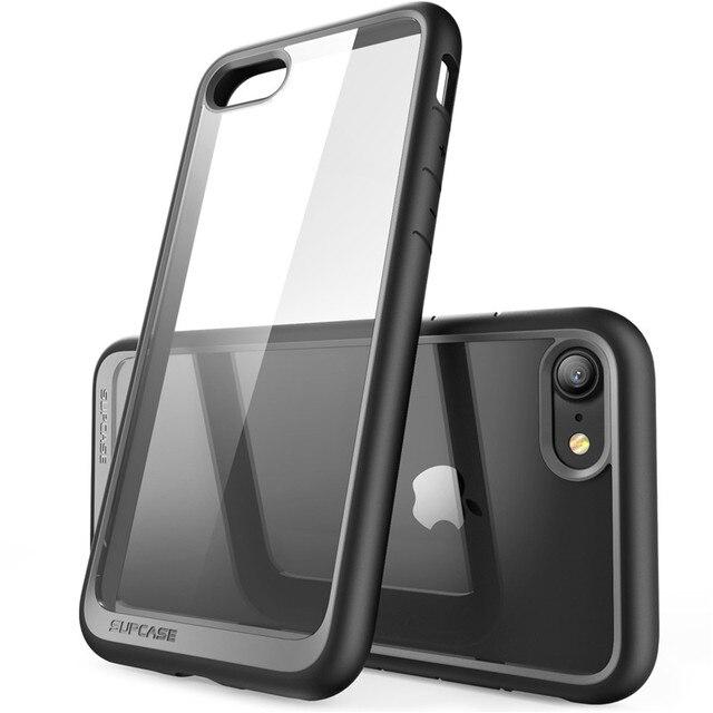 Voor Iphone Se 2020 Case Voor Iphone 7 8 Case 4.7 Inch Supcase Ub Stijl Premium Hybrid Beschermende Tpu Bumper + Pc Clear Back Cover