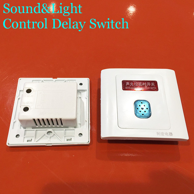 New arrival switch delay 220v 50hz wall switch sound and light new arrival switch delay 220v 50hz wall switch sound and light control delay switch voice light aloadofball Gallery