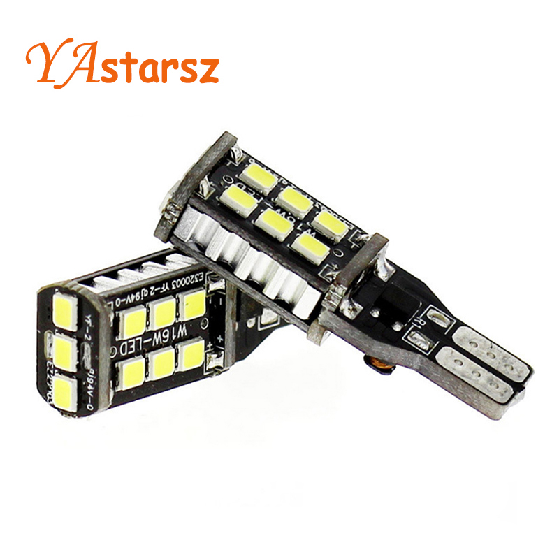 2PCS New Car led Canbus 7.5w T15 LED Reverse Light W16W 15SMD Car LED NO ERROR Back UP light rear Lamp white Car styling feie high tech programmable digital mini ear hearing amplifier standard cic hearing aid s 16a dhl free shipping