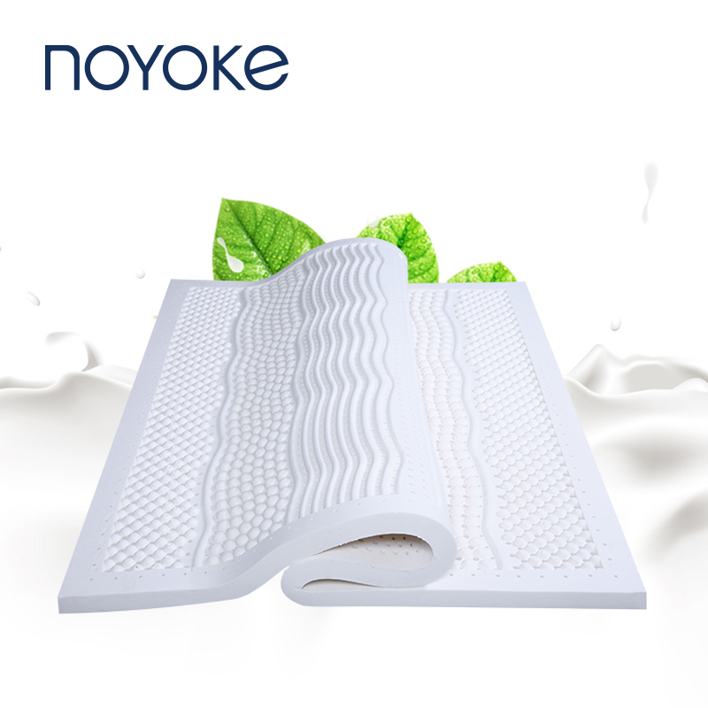 Noyoke Bedroom Furniture Latex Mattress Seven Spots Massage Mattresses Topper Tatami Bed Mat Foam Mattress