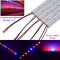 5pcs*0.5m 5630 Grow Led bar rigid Strip Light  5 Red 1 Blue Aquarium Greenhouse Hydroponic Plant Growing strip  with U Aluminium