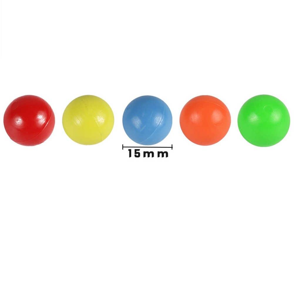 100 個 15 ミリメートルモンテッソーリカウント固体クリップボールベビー数学のおもちゃ子供の学校の数学教材エイズ教育おもちゃ 2019