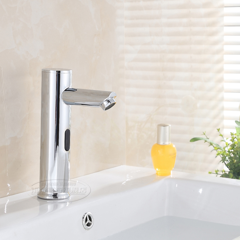 2015 Kitchen Faucet Faucet Grifos Para Lavabos Manufacturers Selling Glass Basin Automatic Induction / Tap To Wash Your Hands copper infrared intelligent automatic induction type single tap faucet wash