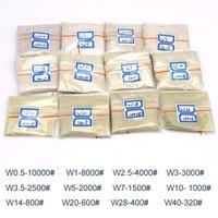 כלי קרביד כלי 100 קרט / W0.5 20G על כלי צחצוח W40 צחצוח אבקת יהלום מיקרון אבקת עבור אבני חן ג