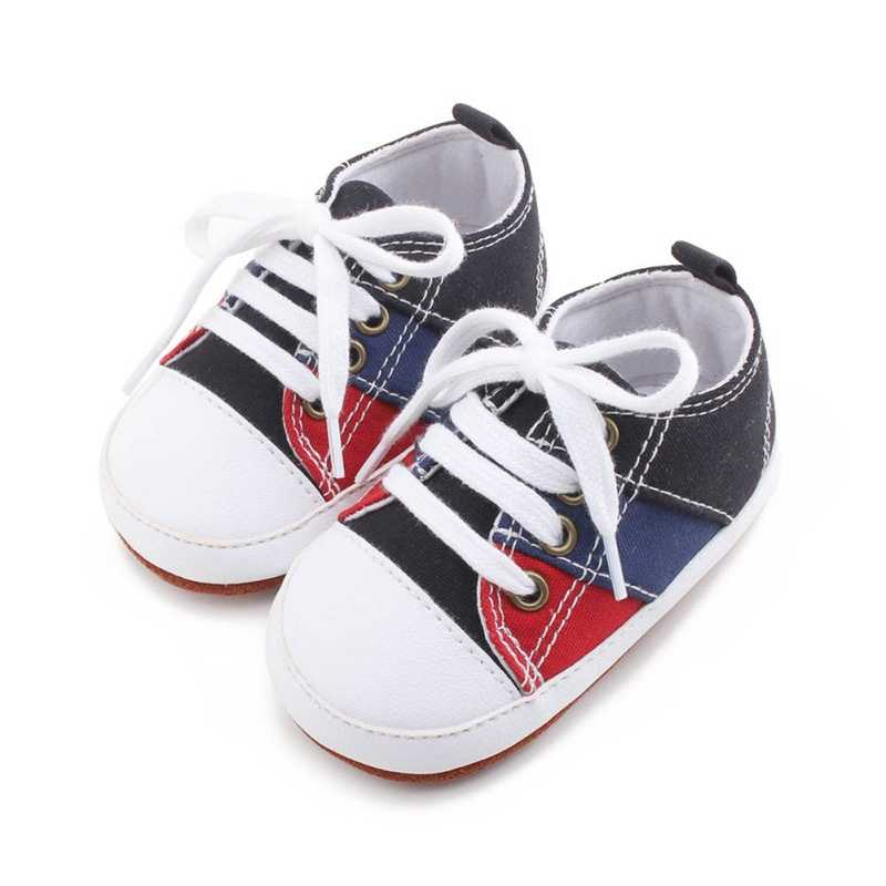 toddler infant Canvas Baby girl boy Shoes Newborn Sports Sneakers Kids Booties First Walkers Children Booties
