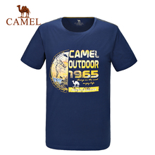2016 Camel Outdoor Lover's T-shirt O-neck Print T-shirts Spring and Summer Comfortable Tshirt A6S209114