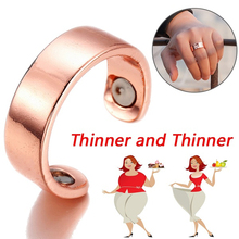 Magnetic Slimming Ring Keep Slim Fitness Acupoints Stud Weig