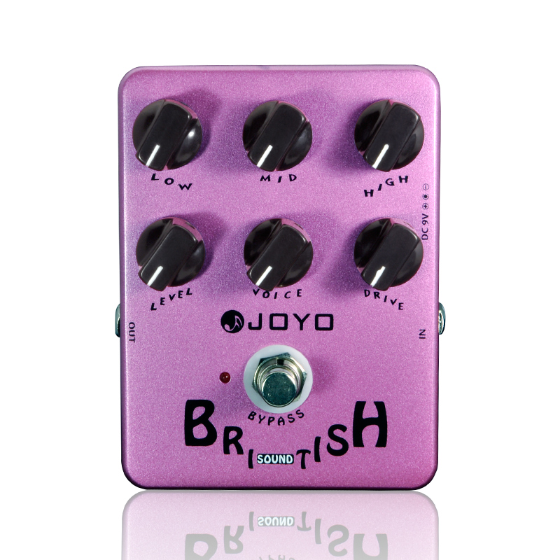 Electric Guitar Pedal British Sound Effect Pedal Amplifier Simulator Get Tones Inspired By Marshall Amps JOYO