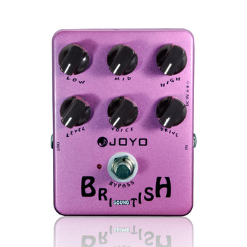 цена на Electric Guitar Pedal British Sound Effect Pedal Amplifier Simulator Get Tones Inspired By Marshall Amps JOYO JF-16 Effects