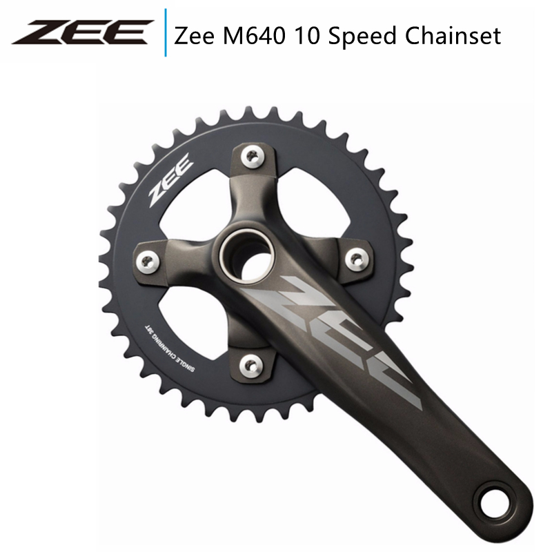 Shimano Zee M645 crankset 36T 170mm W//BB 83mm MTB DH//FR Bicycle New