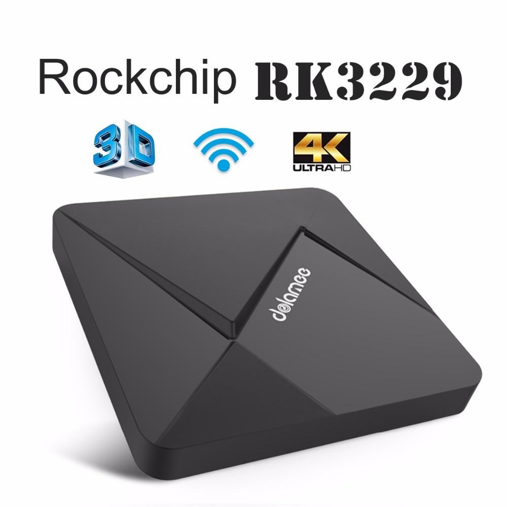 DOLAMEE D5 Android 6.0 TV Box 1 GB 8 GB Rockchip RK3229 Quad-core 2.4G Wifi Tota