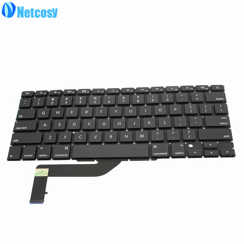 Netcosy A1398 New US Replacement keyboard for Apple Macbook Pro 15