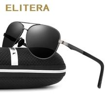 цена на ELITERA 2017 New Vintage Polarized Sport Sunglasses Men Brand Outdoor Fishing Driving Sports Sun Glasses Oculos De Sol Masculino