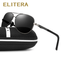 ELITERA 2017 New Vintage Polarized Sport Sunglasses Men Brand Outdoor Fishing Driving Sports Sun Glasses Oculos