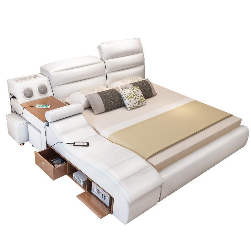 Matrimoniale Lit Enfant Frame Letto Totoro Mobili Tempat Tidur Tingkat Modern Leather Mueble Cama Moderna bedroom Furniture Bed