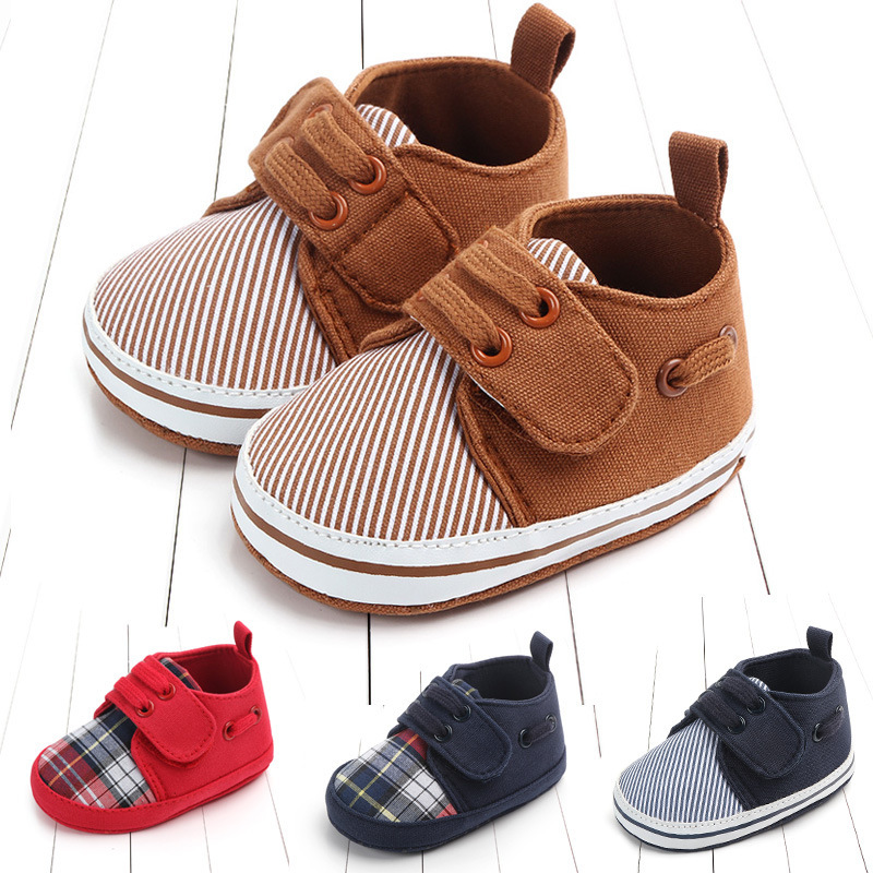 Leisure Time Male Baby Soft Sole Of Shoes Magic Subsidies Baby Shoe 0 1 Year Study Walking Shoes 2070