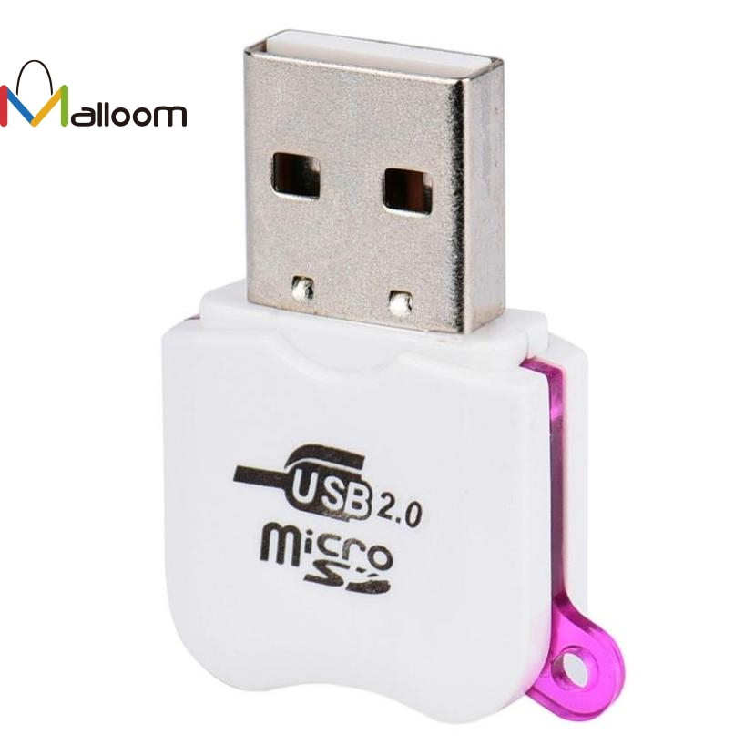 Malloom 2018 New Arrival Wholesale Price High Speed Mini Micro SD USB 2.0 Micro TF T-Flash Memory SD Card Reader Adapter#20