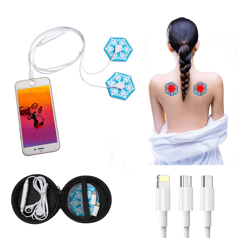 Mini Simple Portable Phone Massager Foot Back Facial Neck -2139
