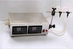 High precision good quality double heads water liquid filler LT-130-II
