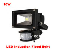 10W LED Induction Flood Light IP65 AC85V 265V Warm White Cool White CE ROSH Freeshipping