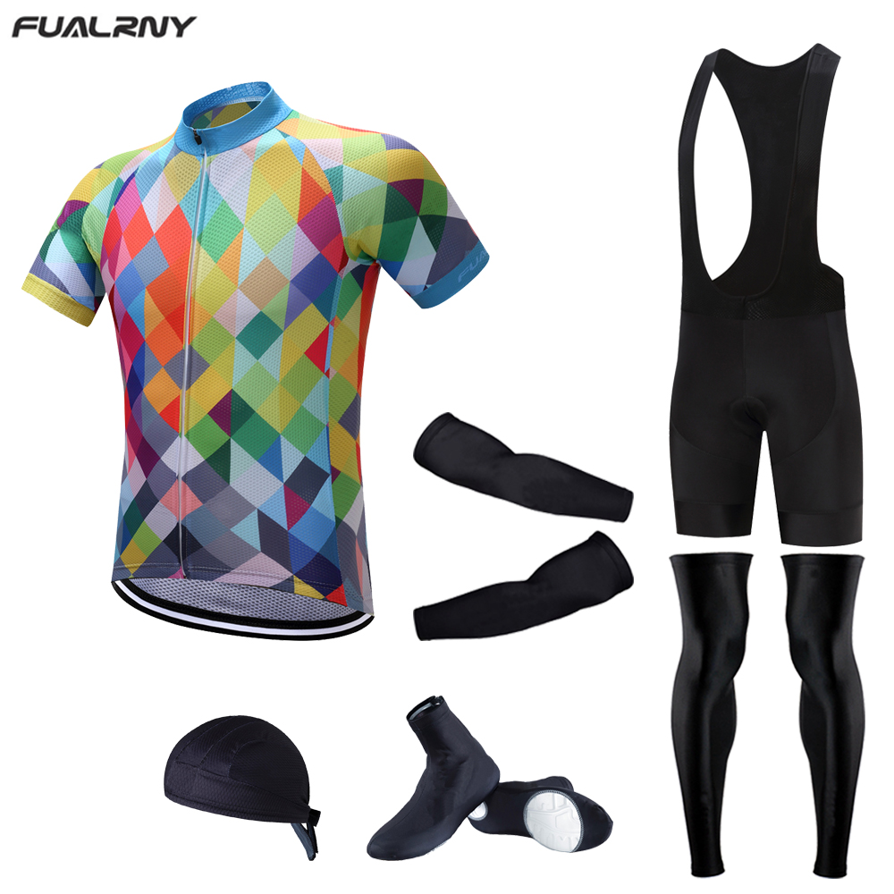 FUALRNY 2017 Brand New Jersey Set Bicycle Wear MTB Cycling Clothing Ropa Ciclismo Bike Cycle uniform Racing Cycling Full Sets cycling jersey 2017 cheji top high quality racing sport bike jersey mtb bicycle cycling clothing ropa ciclismo summer clothes