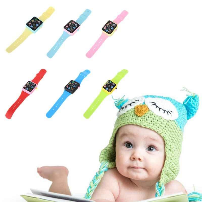 ילדים 3D מסך מגע חכם שעון מוסיקה למידה מכונה מוקדם חינוך צעצוע תינוק צעצועים פעוט תינוק צעצועי תינוקות