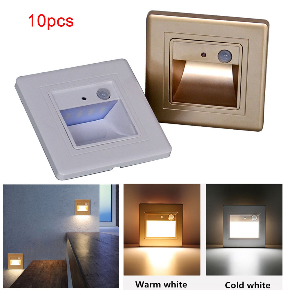 Lighting Basement Washroom Stairs: Aliexpress.com : Buy JIAWEN 10pcs LED Stair Light PIR