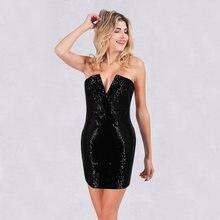 9f5489e5d0bd2 Popular Women Shiny Sexy Strapless Off Shoulder Dress-Buy Cheap ...