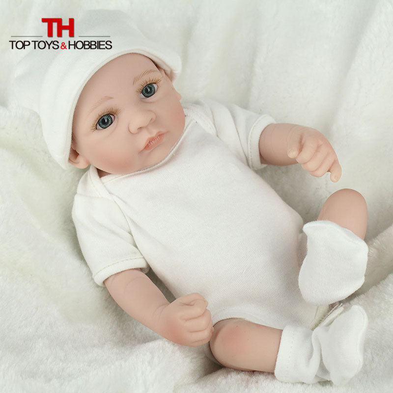 28cm Full Body Silicone Bebe Doll Looking Real Silicona
