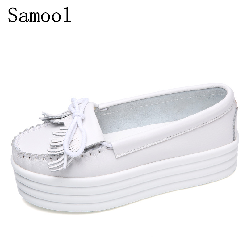 fashion Swing Shoes Breathable PU Leather Flat Women Platform Shoes White Soft boat Shoes Woman Spring casual Shoes women AK3 fashion embroidery flat platform shoes women casual shoes female soft breathable walking cute students canvas shoes tufli tenis