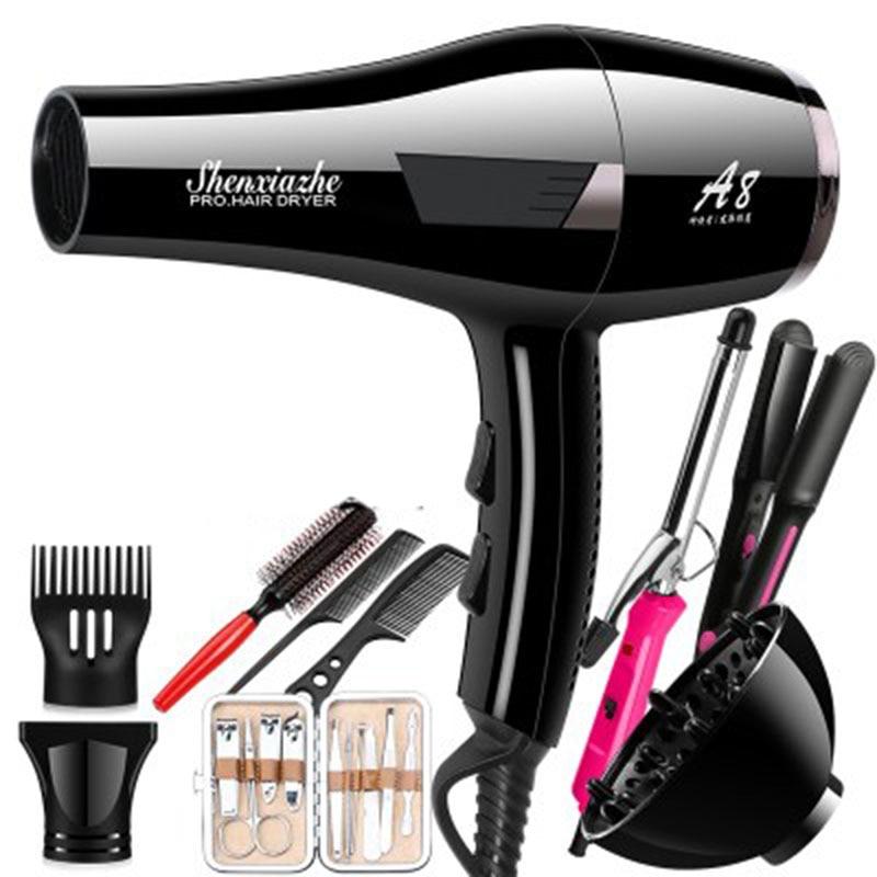 Hair dryer 4000W high power home hair salon to send all gifts shanghai kuaiqin kq 5 multifunctional shoes dryer w deodorization sterilization drying warmth