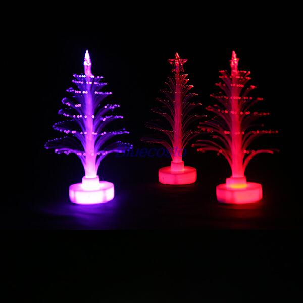 Mini Tree With Lights Part - 48: Retail Mini Christmas Tree With Top Star Night Light Lamp Color Changing  Childrenu0027s Gift Wholesale ...