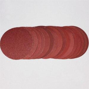 Image 5 - 25 יח\סט 6 אינץ 150mm עגול נייר זכוכית דיסק חול גיליונות חצץ 600 3000 וו לולאה מלטש דיסק עבור סנדר גריסים שוחקים כלים