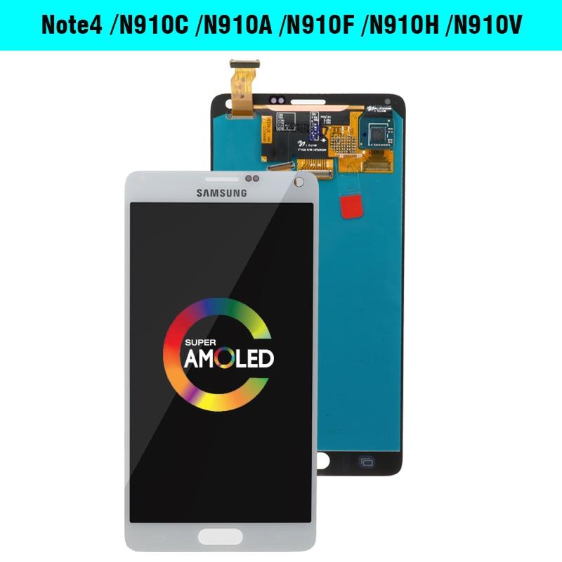 HTB10mzLLXzqK1RjSZFvq6AB7VXac ORIGINAL 5.7''LCD Replacement for SAMSUNG Galaxy Note 4 Note4 N910 N910C N910A N910F N910H LCD Display Touch Screen Digitizer
