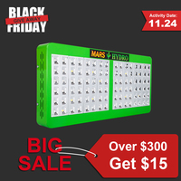 Mars Hydro Reflector 96 Led Grow Light For Indoor Plants Growth Bloom Switchable Full Spectrum With