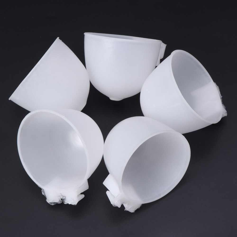 5pcs Bird Parrot Hamster Feeder Round bottom Feeding Bowl Hanging Water Drinking Food Cup Bird Feeding Tools C42
