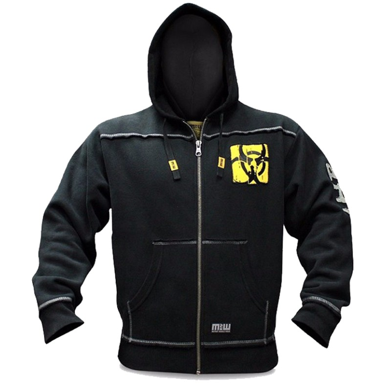 Mutant New Autumn Fitness Hoodies Brand Clothing Men Pullover Casual Sweatshirt Muscle Men's Slim Fit Hooded Jackets 4