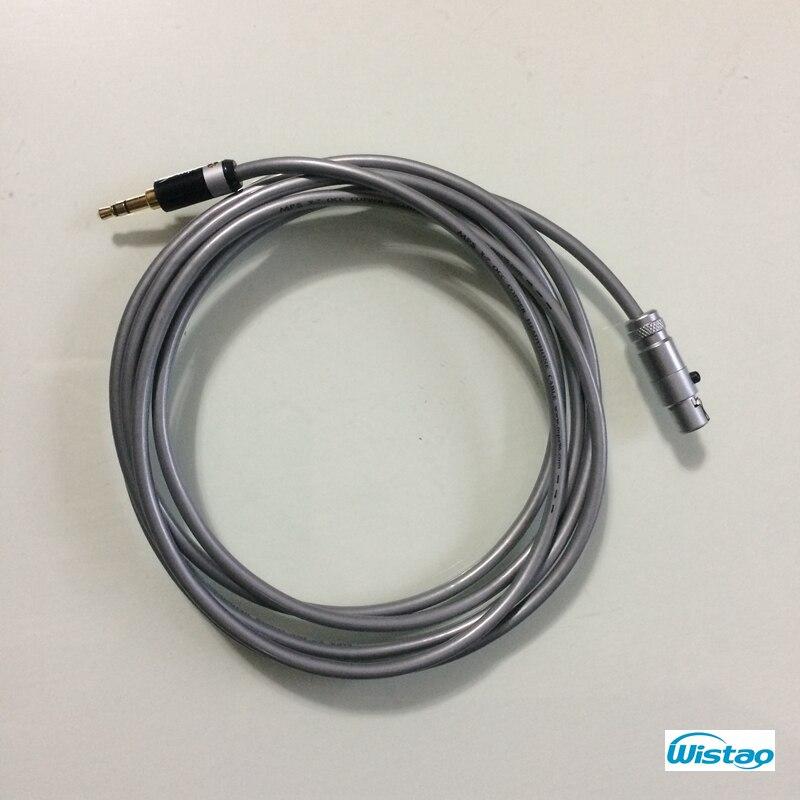 Стерео 3,5 мм к mini-XLR Женский Сигнальный кабель позолоченный 3,5 мм мини-джек XLR Женский Разъем для K702 Q701 к 271 Бесплатная доставка
