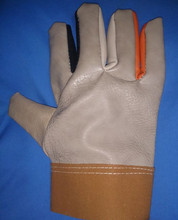 Free transport 3pairs Artificial leather-based wear-resistant working defending security gloves in combined colours with aggressive worth