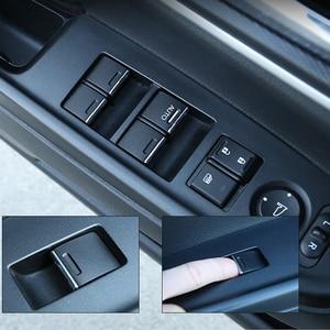 Image 4 - 7 Chiếc Đồng Hồ Thép Không Gỉ Dành Cho Xe Honda CRV CR V Phù Hợp Với Thành Phố Hiệp Định Cửa Sổ Nâng Nút Bấm Kim Sa Lấp Lánh Miếng Dán